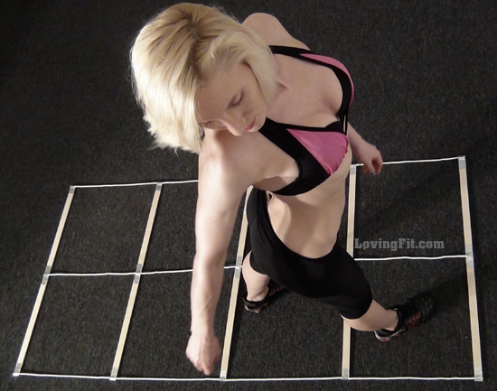 How to Make agility ladder