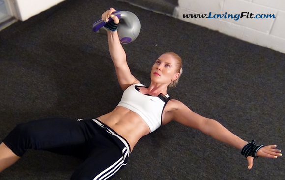 Upper Body & Abs Circuit Training and Interval Training Workout