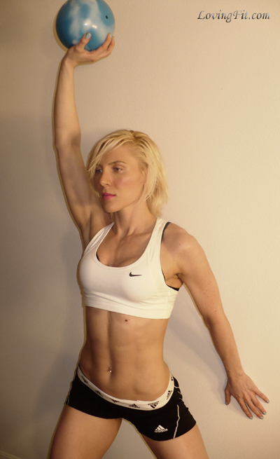 Fitness, Exercise, Workout, Medicine Ball