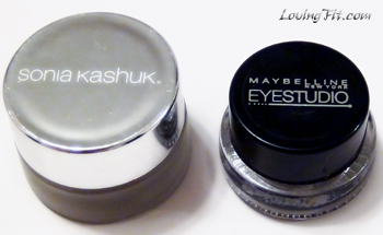 Makeup, Sonia Kashuk Eye liner, Maybelline eye studio