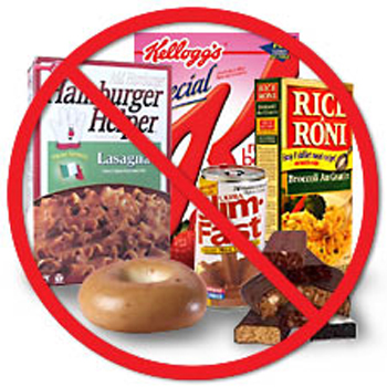 processed foods are bad
