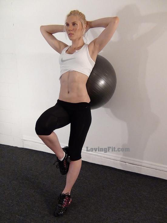 Firm butt exercise