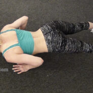 Walking Out Push Up Exercise