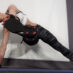 Twisted Toe Touch Exercise