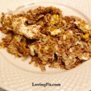 Roasted Oats Omelette Recipe