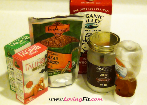 Homemade firming face mask
